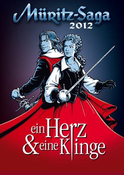 Müritz-Saga 2012 Plakat